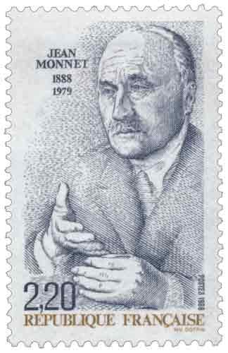 Centenaire de la naissance de Jean Monnet (1888-1979)