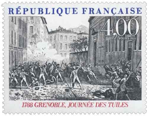 1988 GRENOBLE, JOURNÉE DES TUILES 1788