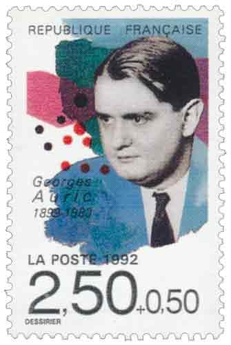 Georges Auric (1899-1983), compositeur, né à Lodève (Hérault)