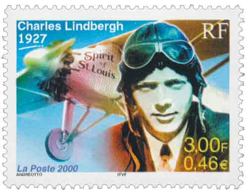 Charles Lindbergh 1927, premier pilote à relier New York à Paris
