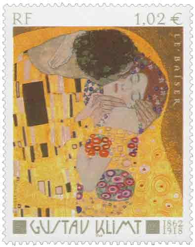 Le Baiser, œuvre de Gustav Klimt