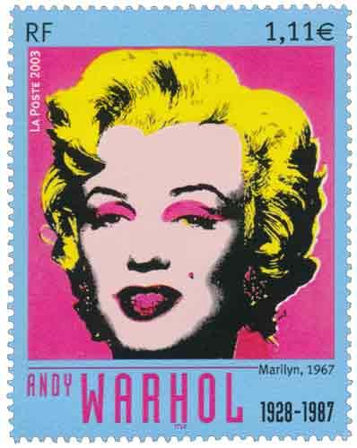Andy Warhol (1928-1987), portrait de Marilyn Monroe
