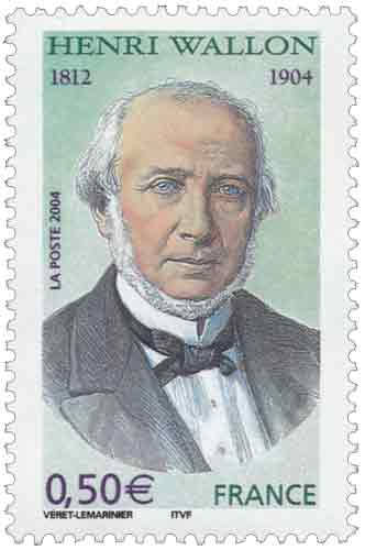 Centenaire de la mort d'Henri Wallon (1812-1904)