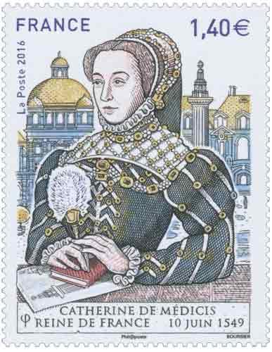 Catherine de Médicis Reine de France